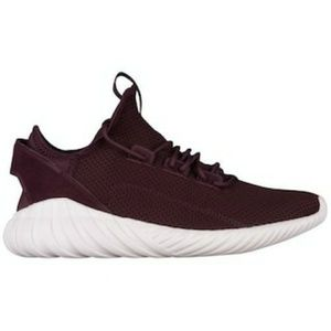 Adidas Originalz Tubular Doom Sock Burgundy Sneake